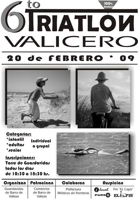 6º Triatlón Valicero 20 de febrero